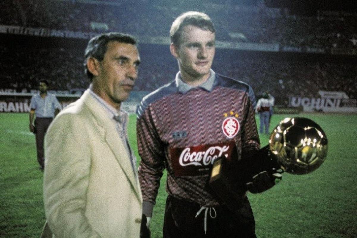 Claudio Taffarel foi campeão da Copa de 1994